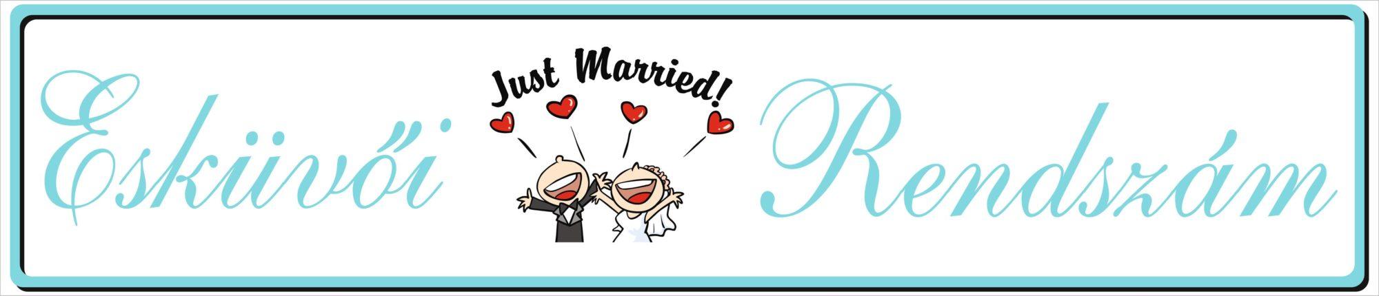 Esküvői rendszám